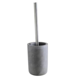 FLY-balai de toilette h. 37.5 cm gris/argent