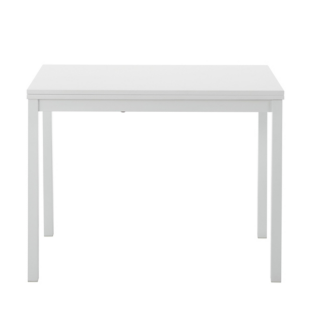 FLY-table console plateau depliable blanc