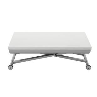 FLY-table ascenseur gris/blanc