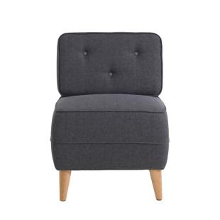 FLY-fauteuil gris fonce/gris clair
