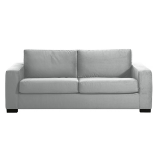 FLY-canape convertible 3 pl gris clair