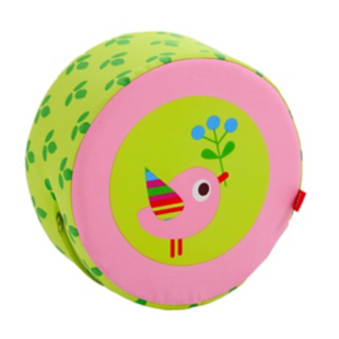 FLY-coussin rond princesse multicolore