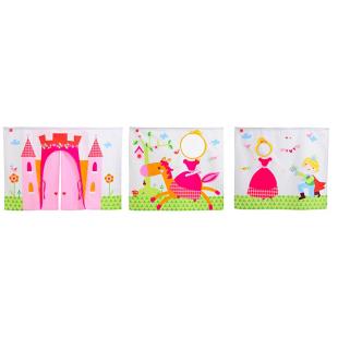 FLY-rideau princesse multicolore