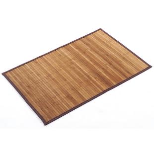 FLY-tapis bambou 90x60 cm brun/naturel