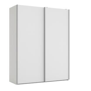 FLY-armoire 2 portes l150/p61 cm blanc