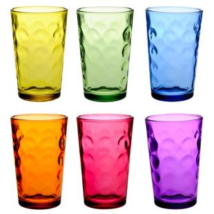FLY-lot de 6 gobelets 22cl multicolore