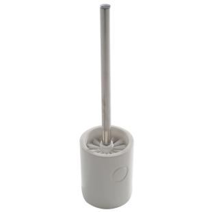 FLY-balai de toilette en faience 11x45 cm blanc