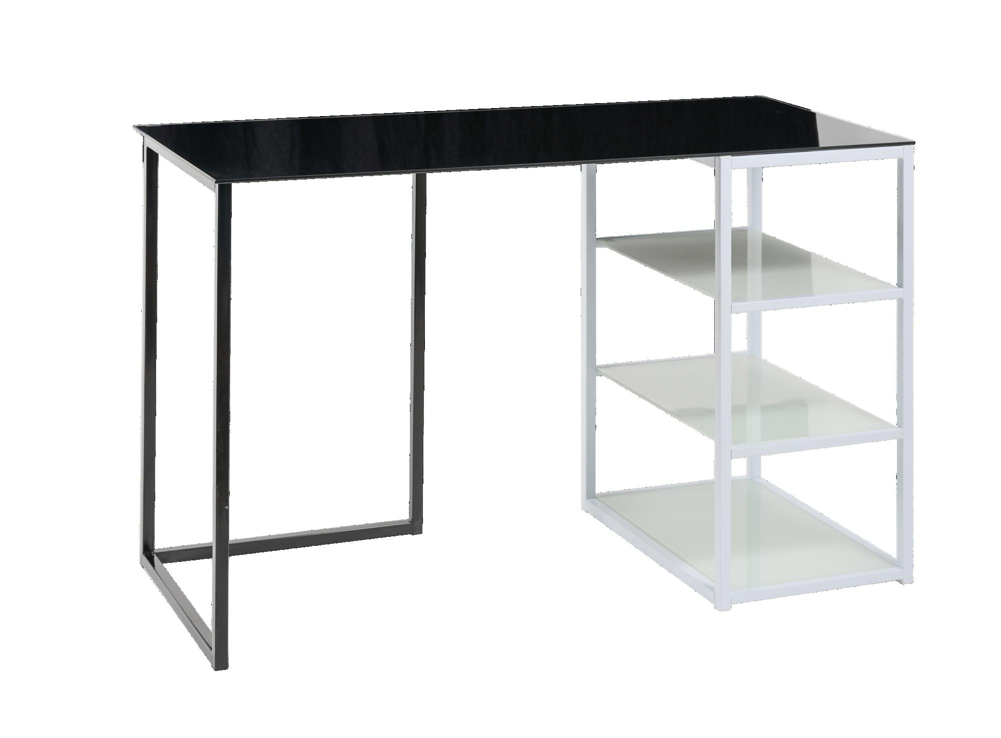 <p> Plateau en verre trempé ép.0.6cm teinté noir, L.145 cm.& ...
