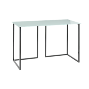 FLY-Bureau plateau blanc L145 cm