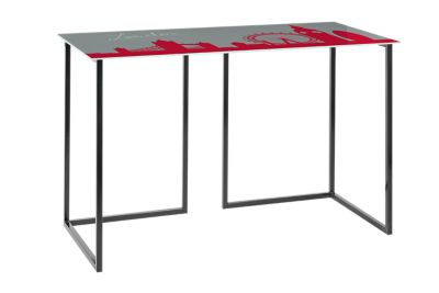 bureau en verre fly vendre bureau table verre a vendre. Black Bedroom Furniture Sets. Home Design Ideas