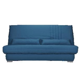FLY-Banquette Clic Clac Bultex tissu bleu