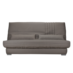 FLY-Banquette Clic Clac  Bultex tissu taupe