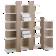 Tiroirs et boutons pour etagere modulable en panneau de particules re ...
