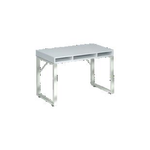 FLY-Bureau plateau blanc l120 cm
