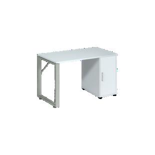 FLY-Bureau plateau blanc