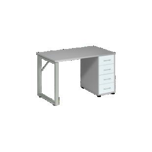 FLY-Bureau plateau gris
