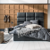 Cadre de lit pour couchage 140x190 cm. structure en panneau de partic ...