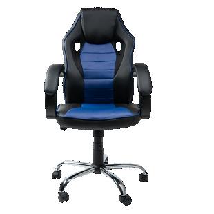 FLY-Fauteuil de bureau bleu/noir