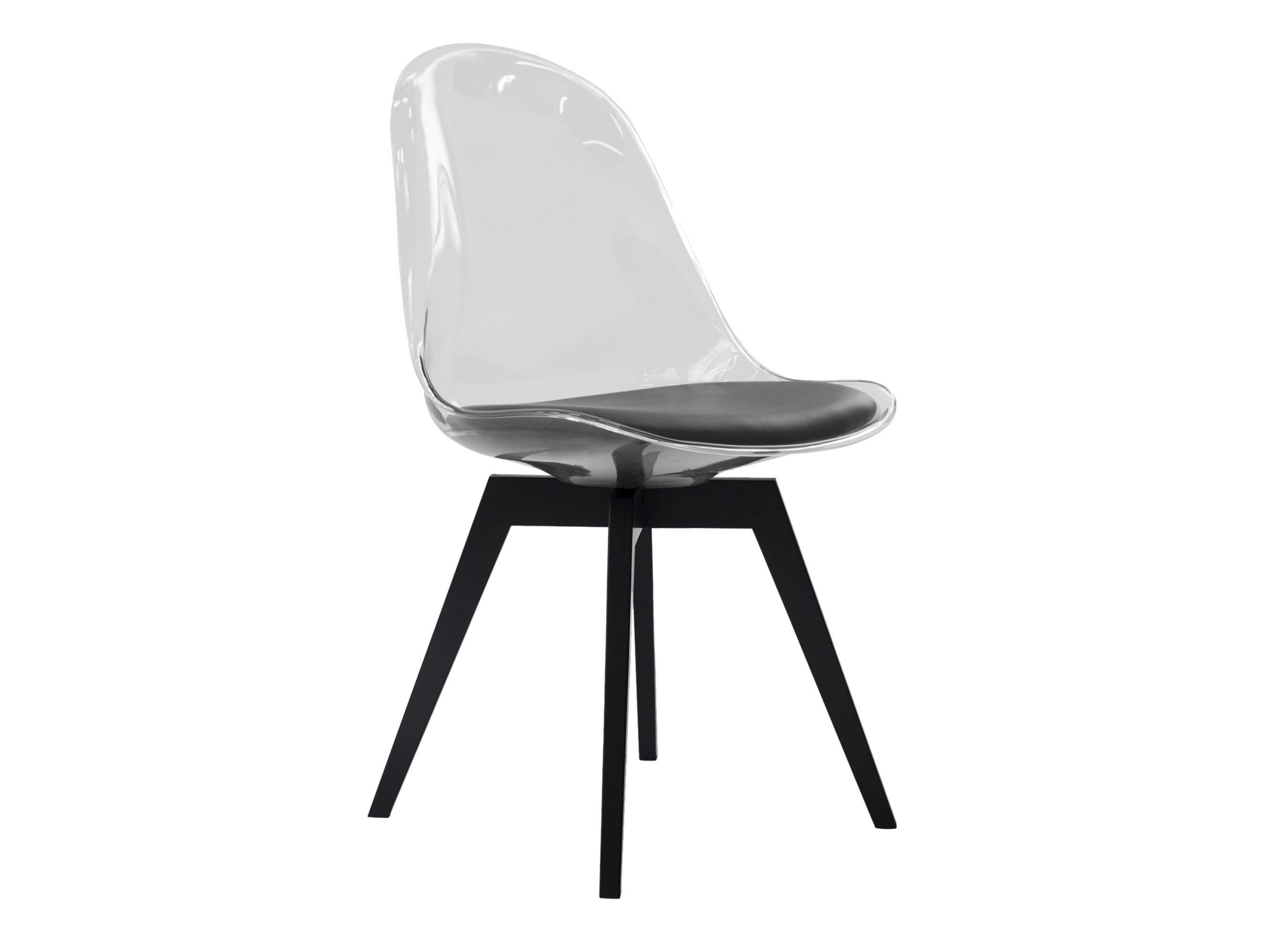 <p> la composition comprend :1 coque de chaise en polycarbonate ...