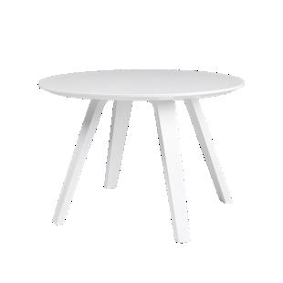 FLY-Table basse blanche pieds multiplis de hetre laque blanc