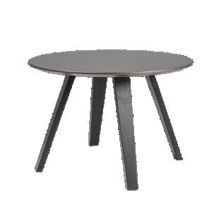 FLY-Table bronze pieds multiplis de hetre laque noir