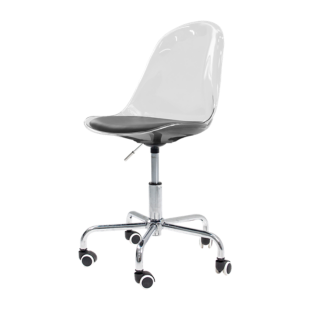 FLY-Chaise de bureau coque transparente