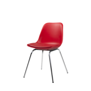 FLY-Chaise coque rouge