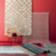 Tapis 160x230 50% laine 50% coton coloris rouge et blanc nettoyage p ...